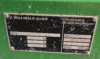 Willibald EP 5500 lleno